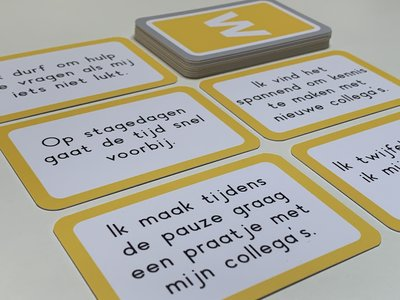 Kaartspel branche- oriëntatie 6 - stellingen